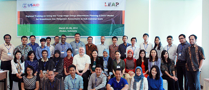 Participants in the Medan, Indonesia training
