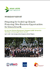 Manila climate finance report cover