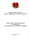 Cover image of PNG's Initial National Communication