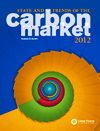 Image of the cover of the State and Trends of the Carbon Market 2012
