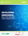 Cover image of the State of the Voluntary Markets 2012 publication
