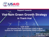 Vietnam Green Growth Strategy in Thanh Hoa Report cover page