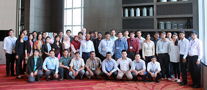 Professionals from 10 countries participated in the LEAP training