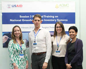 Trainers from USAID LEAD Program and ICF International